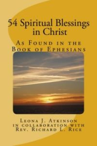 54 Spiritual Blessings in Christ Devotional/Journal Book