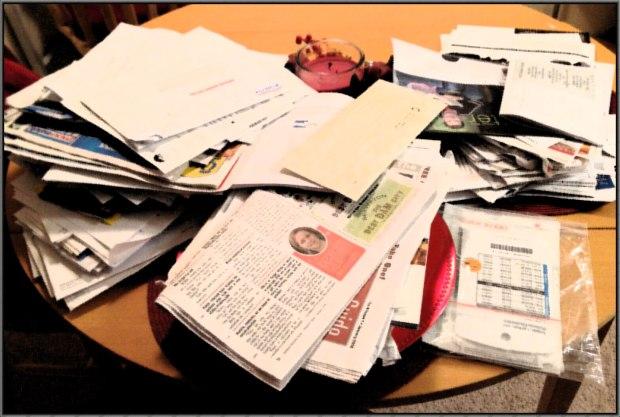 junk mail-paperwork