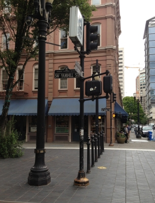 Downtown Portland, OR. Yamhill Historic District
